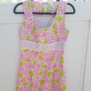 Lilly Pulitzer summer dress, size 6